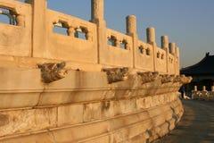 La parete esterna dell'altare circolare del monticello Fotografia Stock