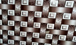 La parete ha strutturato il fondo con il fondo di effetto del colourfull Backgroundhead, luce immagine stock