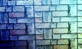 La parete ha strutturato il fondo con il fondo di effetto del colourfull Backgroundhead, luce fotografie stock