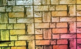 La parete ha strutturato il fondo con il fondo di effetto del colourfull Backgroundhead, luce fotografia stock