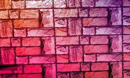 La parete ha strutturato il fondo con il fondo di effetto del colourfull Backgroundhead, luce immagini stock