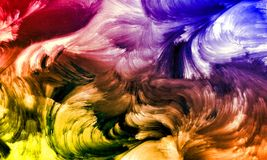 La parete ha strutturato il fondo con il fondo di effetto del colourfull Backgroundhead, luce fotografie stock libere da diritti
