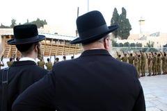 la parete occidentale - Gerusalemme Fotografia Stock Libera da Diritti