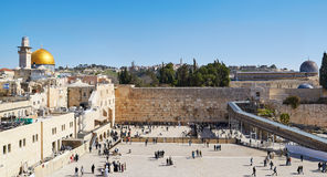 La parete occidentale a Gerusalemme Fotografia Stock Libera da Diritti