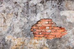 La parete rovinata Immagine Stock
