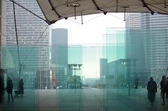 la paris arche большой Стоковая Фотография