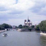 процитируйте la paris ile de Франции Стоковое Изображение