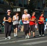 La Parisienne 2007 di maratona Immagini Stock Libere da Diritti