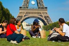 La Parisienne 2007 van de marathon Stock Afbeelding