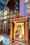 La paroisse orthodoxe de Saint-Nicolas C Photo stock