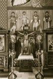 La paroisse orthodoxe de Saint-Nicolas D Image libre de droits