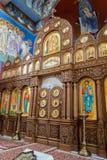 La paroisse orthodoxe de St Nicholas Altar B Photo stock
