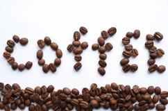 """La parola """"caffè"""" Immagini Stock Libere da Diritti"""