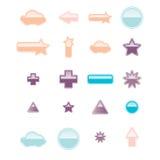 la parole de boutons de bulles Image stock