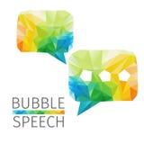La parole de bulle Images stock