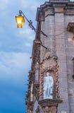 La parroquia de圣米格尔arcangel 库存照片