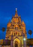 La parroquia DE San Miguel arcangel Royalty-vrije Stock Afbeeldingen
