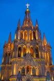 La parroquia DE San Miguel arcangel Royalty-vrije Stock Foto's