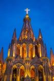 La parroquia DE San Miguel arcangel Stock Fotografie