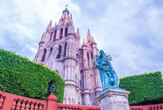 La parroquia de san miguel arcangel Royalty Free Stock Photo