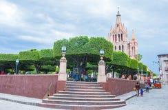La parroquia de san miguel arcangel Stock Photo