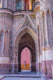 La parroquia de san miguel arcangel Royalty Free Stock Photography