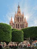 La Parroquia San Miguel Allende Royalty Free Stock Photos