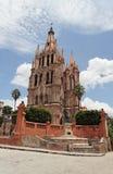 La Parroquia San Miguel Allende Stock Photography