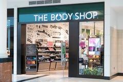 La parte anteriore del deposito di Body Shop Fotografia Stock