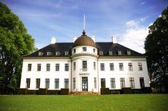 La parte anteriore del palazzo di Bernstorff Fotografie Stock Libere da Diritti