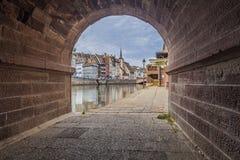 La parte centrale di Strasburgo Fotografia Stock