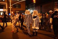 La parte 2015 del desfile de Halloween del pueblo 4 77 imágenes de archivo libres de regalías