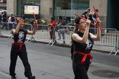 La parte 2 13 del desfile de la danza de 2015 NYC Foto de archivo libre de regalías