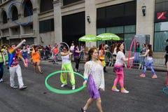 La parte 2 83 del desfile de la danza de 2015 NYC Foto de archivo libre de regalías