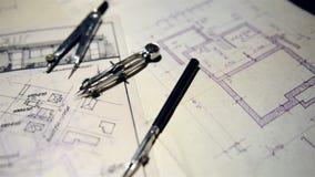 La parte del proyecto arquitectónico almacen de video