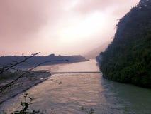 La parte di bocca del pesce della diga di Dujiangyan in Sichuan, Cina Immagini Stock