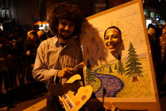 La parte 2015 di parata di Halloween del villaggio 5 60 Fotografia Stock