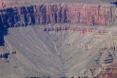 La parte inferior de Grand Canyon Foto de archivo libre de regalías