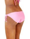 La parte inferiore di una ragazza del bikini. Fotografie Stock Libere da Diritti