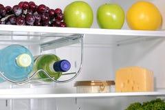 La parte interna dei frigoriferi. Fotografia Stock Libera da Diritti
