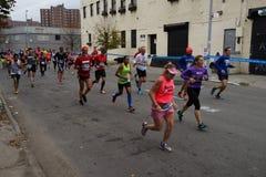 La parte 2 maratona 2015 del TCS New York 24 Immagini Stock Libere da Diritti