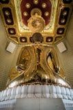 La parte posterior de Buda Fotografía de archivo