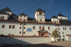 La parte posterior de un castillo sajón Fotografía de archivo