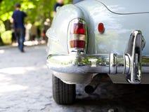 La parte posterior de un coche retro Foto de archivo