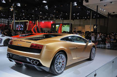 La parte posterior del Lamborghini Fotografía de archivo