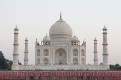 La parte posterior del Taj Mahal Foto de archivo