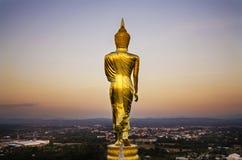 La parte posteriore del Buddha Immagini Stock Libere da Diritti
