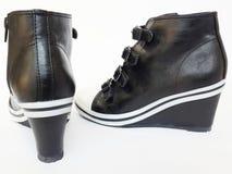 La parte posteriore delle scarpe Fotografia Stock Libera da Diritti