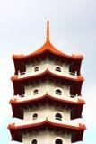 La parte superiore del Pagoda Fotografia Stock Libera da Diritti