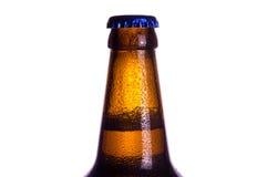 La parte superiore della bottiglia chiusa Immagine Stock Libera da Diritti
